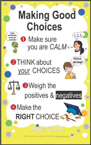 Making Good Choices Lesson