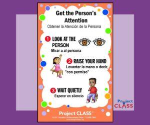 Obtener la Atención del Persona –Lección