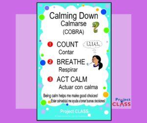 Calmarse – Lección
