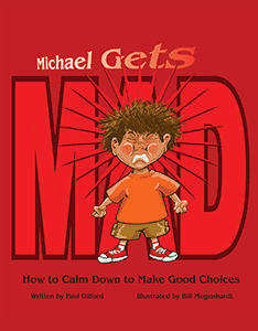 """Book cover for """"Michael Gets Mad"""""""